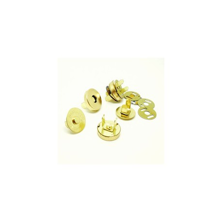 Магнитная застежка 14мм. золото