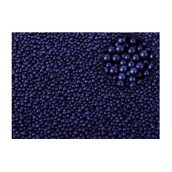 Микробисер Синий металлик 15гр