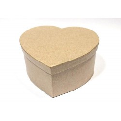 Заготовка коробки Сердце 14*7см