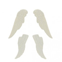 Набор ангельских крыльев, белые