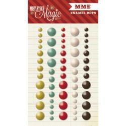 Декоративные стразы 44 шт My Mind's Eye Mistletoe Magic