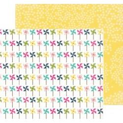 Бумага 30*30 см Pretty Pinwheels