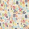 Бумага 30*30 см Numbers