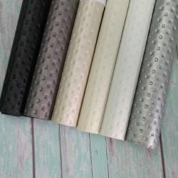 Экокожа Каретная стяжка, Белый, 35*25 см