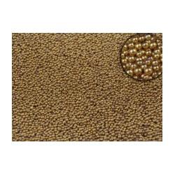 Микробисер Золото металлик, 15 гр