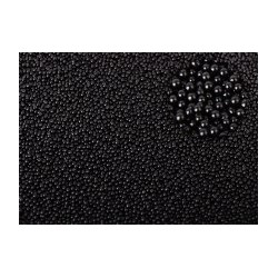 Микробисер Черный металлик, 15 гр