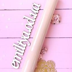 Экокожа Premium-категории Лак Розовый 25*35 см