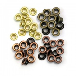 Люверсы Standard Eyelets – Copper Warm Metal, 60 шт