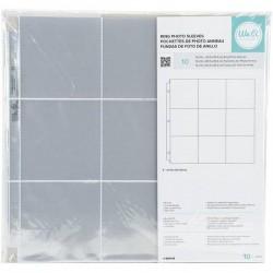 Набор файлов для альбомов Project Life Photo Sleeves - We R - 12 x 12 - 6-4x6 (10 Piece)