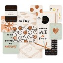 Project Life - Forever Young Edition - Specialty Card Pack - Bronze Foil Treatment 7,5*10 см и 10*15 см,12 Piece