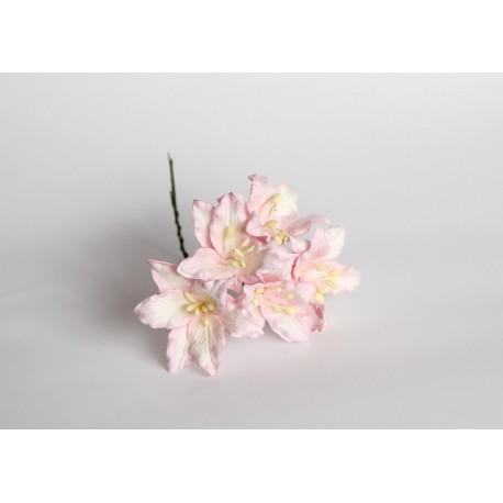 Лилии розовые 30мм, 5 шт.