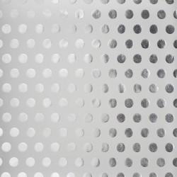 Калька PATTERNED & SPECIALTY DOTS 30X30см с серебрянным фольгированием