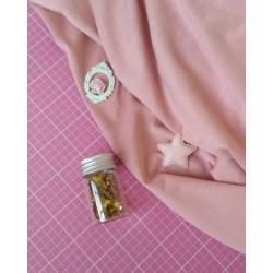 Замш тонкий пепельно-розовый 25*37 см