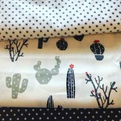 Ткань Кактусы 50*40 см, Корея