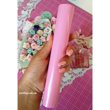 Термотрансферная пленка Матовая Light pink Италия 10х25см