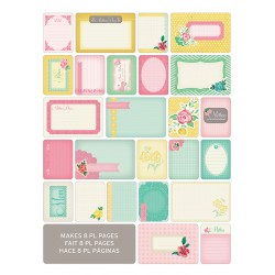Kit Набор карточек - MOM, 40 шт, Project Life