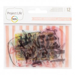 Набор ацетатных высечек INSPIRE, Project Life
