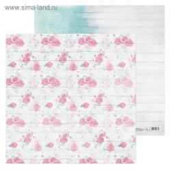 Бумага для скрапбукинга Досочка, 30,5 х 30,5 см