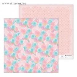 Бумага для скрапбукинга Воздушные шарики, 30,5 х 30,5 см