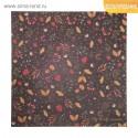 Бумага для скрапбукинга с фольгированием Любимая осень, 30,5 х 30,5 см, 250 г/м