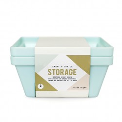 Органайзер DESKTOP STORAGE - NESTING BERRY CONTAINERS - Crate Paper, 1 шт