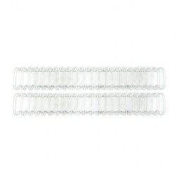 WR - CINCH - WIRE BINDERS - WHITE (.75IN)