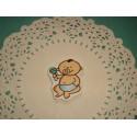 Деревянная фигурка Малыш с погремушкой