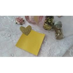 Итальянский переплетный кожзам светло-желтый матовый 25*35 см
