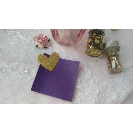 Итальянский переплетный кожзам фиолетовый матовый 25*35 см