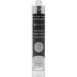 Термотрансферная пленка Silhouette Metallic Heat Transfer Silver 30,5*10 см