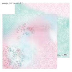 Бумага для скрапбукинга «Воздушные мечты», 30.5 × 30.5 см, 180 г/м