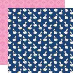 Лист скрапбумаги Little PRINCESS - Simply Charming  30,5*30,5 см, Simple Stories
