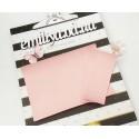 Заготовка на паспорт из Итальянского переплетного кожзама Светло розовый матовый