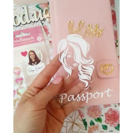 Рисунок + Passport из Белой матовой термотрансферной пленки