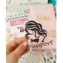 Рисунок + Passport из Черной матовой термотрансферной пленки
