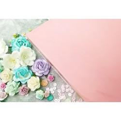Перламутровый дизайнерский картон Розовый , А4, 25 л., плотность 250 гр/м2