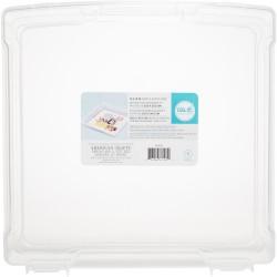 Органайзер для хранения бумаги 30,5*30,5 см WeR Craft & Photo Translucent Plastic Storage