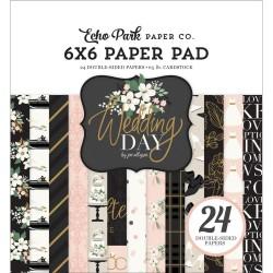 Набор бумаги Wedding Day, 15*15 см 12 л, Echo Park Paper