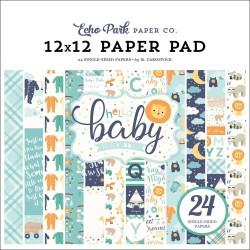 Набор бумаги HELLO BABY BOY, 12 л Echo Park Paper