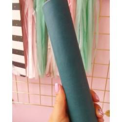 Итальянский переплетный кожзам сине-зеленый матовый 25*35 см