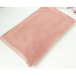 Замш двухсторонняя Пепельно-Розовая2, средней плотности 25*37см