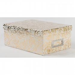 Коробка для хранения PHOTO BOXES - DCWV - GOLD ROSE  27,5х19х11 см