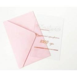 Подарочный сертификат на 1000 грн в бархатном конверте на изготовление альбома или планера