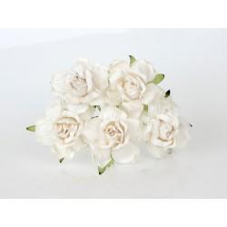 Роза 40 мм Белая