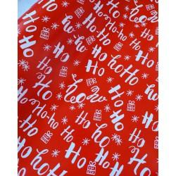 Упаковочная бумага Ho-Ho-Ho 61*90 см