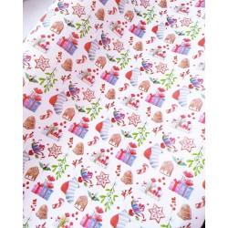 Упаковочная бумага Рождественские пряники 61*90 см