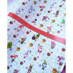 Упаковочная бумага Новогодняя 61*90 см