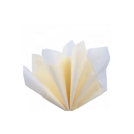 Папирусная бумага тишью Айвори 50*70 см, 10 л