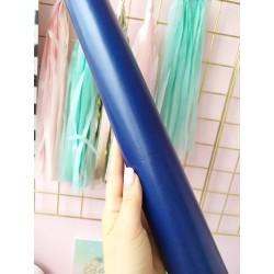 Итальянский переплетный кожзам Синий глянец 25*35 см