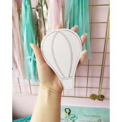 Заготовка для тиснения Воздушный шар 14,6*9,6 см, толщина 1,5мм